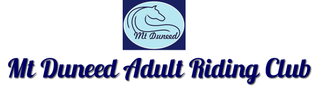 Mt Duneed Adult Riding Club